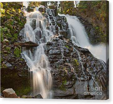 Grotto Falls Canvas Print by Charles Kozierok
