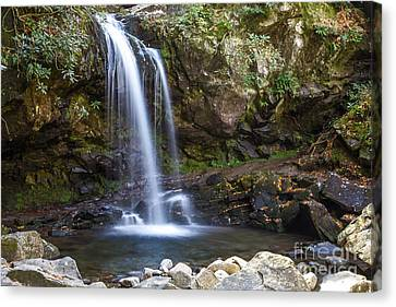 Grotto Falls II Canvas Print