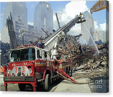 Ground Zero-1 Canvas Print by Steven Spak