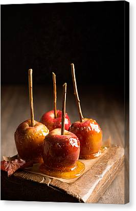 Spin Canvas Print - Group Of Candy Apples by Amanda Elwell