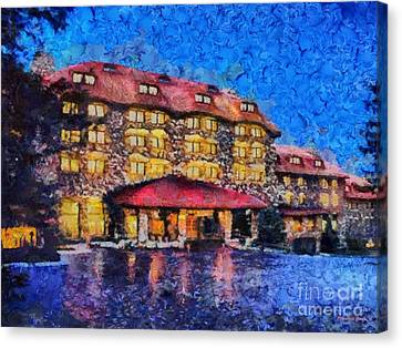 Grove Park Inn Canvas Print