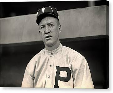 Old Pitcher Canvas Print - Grover Cleveland Alexander - 1915 by Mountain Dreams