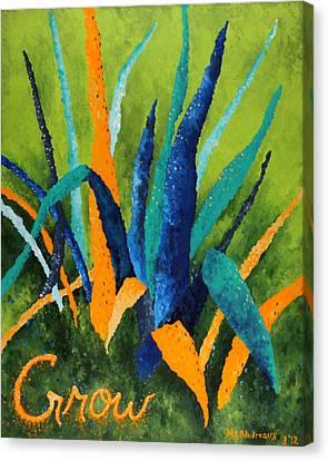 Grow 1 Canvas Print by Michelle Boudreaux