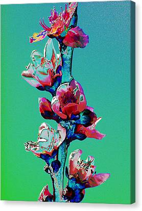 Growing Skyward Canvas Print
