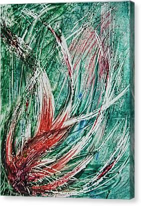 Growing Wild Canvas Print by Alexandra Jordankova