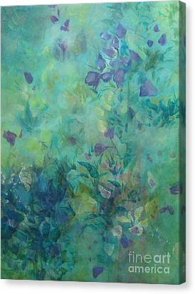 Growing Wild Ix Canvas Print by Elis Cooke