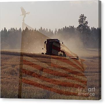 Grown In America Canvas Print