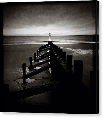 Groyne 1 Canvas Print by Dave Bowman