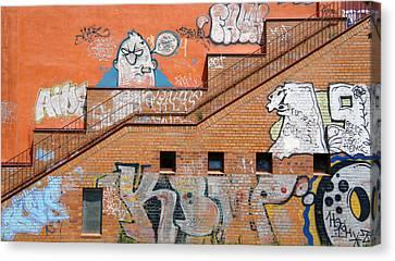 Grrrrr Canvas Print by Kees Colijn