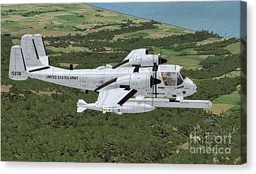 Grumman Ov-1 Mohawk Canvas Print