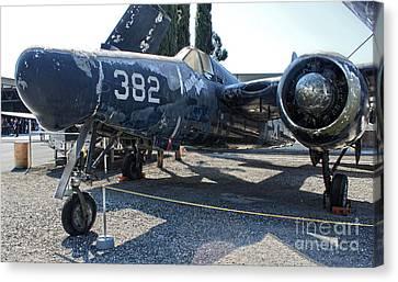 Grumman Tigercat F7f-3n  -  03 Canvas Print by Gregory Dyer