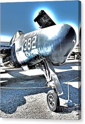 Grumman Tigercat F7f-3n  -  04 Canvas Print by Gregory Dyer