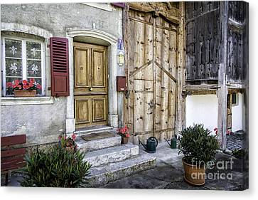Laundry Mat Canvas Print - Gruyeres Home by Timothy Hacker