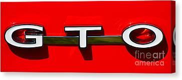 Gto Badge Canvas Print