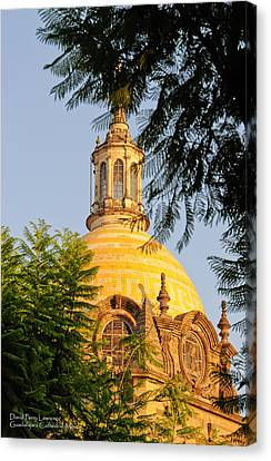 The Grand Cathedral Of Guadalajara, Mexico - By Travel Photographer David Perry Lawrence Canvas Print by David Perry Lawrence