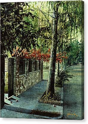 Guadalajara Canvas Print by John M Perez