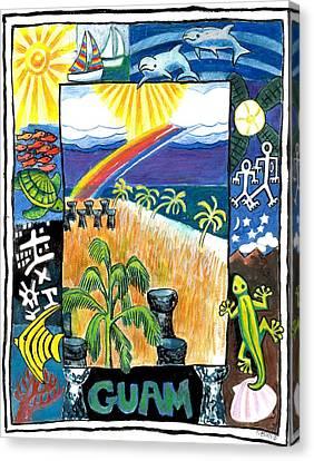 Guam Canvas Print by Genevieve Esson