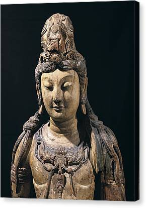 Guan Yin. 10th C. - 13th C. Bodhisattva Canvas Print