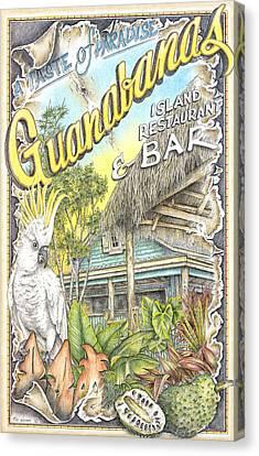 Guanabana Groove Canvas Print