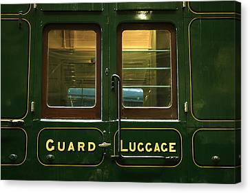Guard And Luggage Car Canvas Print