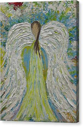 Guardian Angel II Canvas Print by Molly Roberts