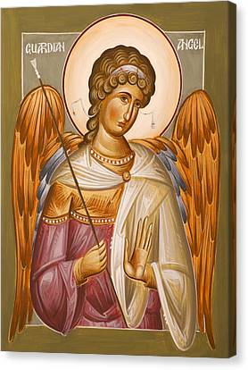 Guardian Angel Canvas Print by Julia Bridget Hayes