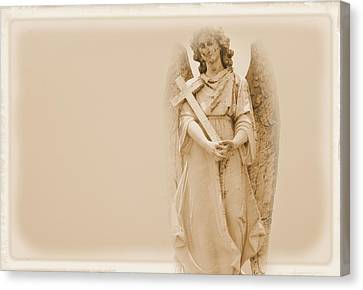 Guardian Angel Canvas Print by Nadalyn Larsen