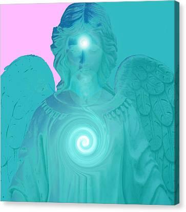 Guardian Angel No. 02 Canvas Print by Ramon Labusch