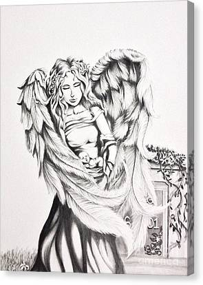 Guardian Angel Canvas Print - Guardian Angel  by Shayla Tansey