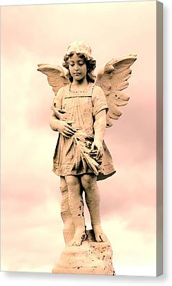 Guardian Angel Canvas Print by Sophie Vigneault