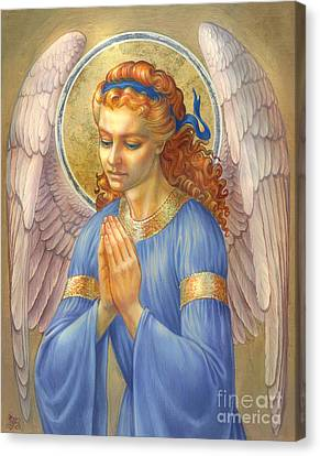 Guardian Angel Canvas Print by Zorina Baldescu