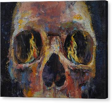 Guardian Canvas Print by Michael Creese