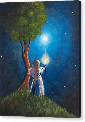Guardian Of Light By Shawna Erback Canvas Print by Shawna Erback