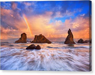 Guardians Of The Sea Canvas Print