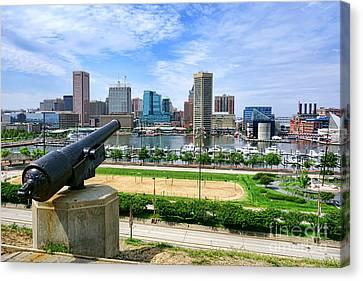 Guarding Baltimore Canvas Print