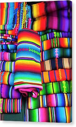 Guatemala, Santiago, Sacatepequez Canvas Print by Michael Defreitas