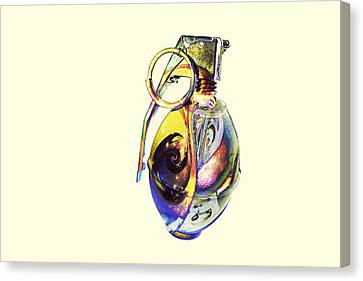 Guccified Paperweight. Canvas Print by EXparte SE