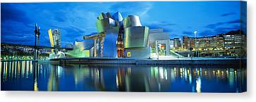 Guggenheim Museum, Bilbao, Spain Canvas Print by Panoramic Images