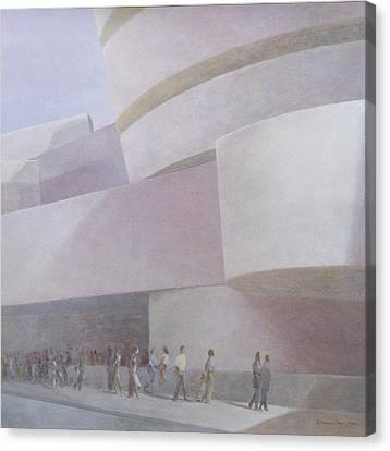 Guggenheim Museum New York 2004 Canvas Print