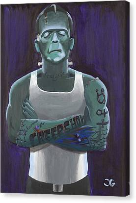 Guilty By Association Canvas Print by Christian Gabriel