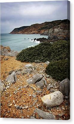 Guincho Cliffs Canvas Print by Carlos Caetano