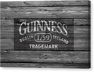 Handcrafted Canvas Print - Guinness by Joe Hamilton