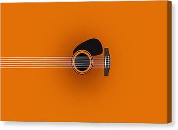 Caricature Canvas Print - Guitar 2 by Mark Ashkenazi