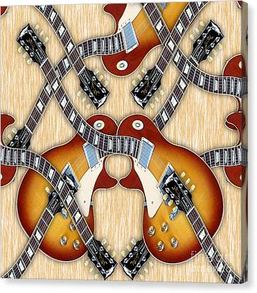 Guitar Dreams Canvas Print by Marvin Blaine