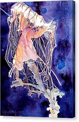 Gulf Coast Jelly Canvas Print by Jeffrey S Perrine