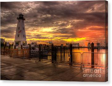 Gulfport Harbor Canvas Print