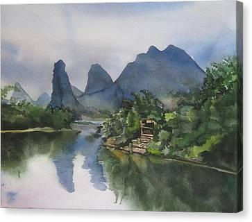 Alfred Ng Art Canvas Print - Gulin Reflection by Alfred Ng