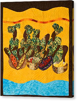 Gumbo Ladies Canvas Print by Aisha Lumumba