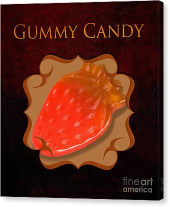 Gummy Candy Gallery Canvas Print by Iris Richardson