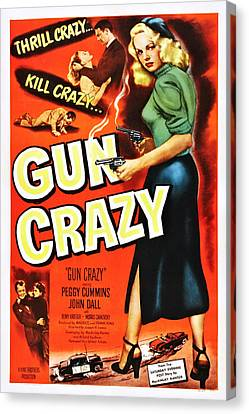 Gun Crazy, Peggy Cummins, John Dall Canvas Print by Everett